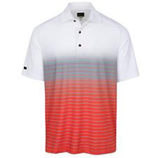 Greg Norman Men's Breaking Par Sublimation Print Polo