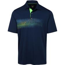 Greg Norman Men's Digital Organic Screen Print Polo