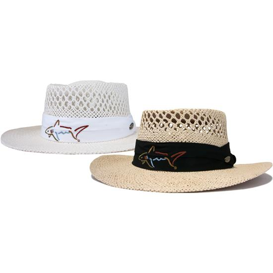 Greg Norman Men S Straw Hat 2017 Model Golfballs Com