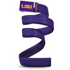 Mission Belt Collegiate Belt - LSU - Purple Strap - X-Large