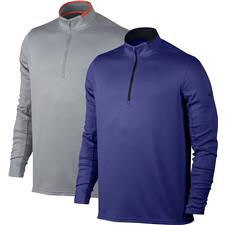 Nike Men's Dri-Fit 1/2-Zip Long Sleeve Top