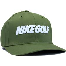 Nike Men's Golf Classic99 Novelty Personalized Hat - Palm Green-White