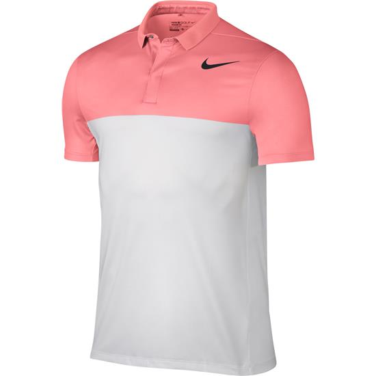 Nike Men's Zonal Cooling MM Fly Block Polo