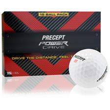 Precept Power Drive Golf Balls - 15 Pack