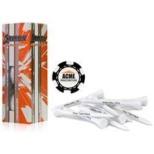 Srixon Custom Logo Marathon, Black Chip Marker and Tee Kit