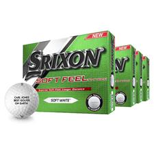 Srixon Soft Feel Personalized Golf Balls - Buy 3 DZ Get 1 DZ Free