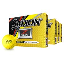 Srixon Z Star Tour Yellow Golf Balls - Buy 3 Get 1 Free