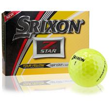 Srixon Z-Star Tour Yellow Personalized Golf Balls