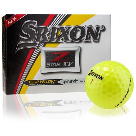 Srixon Z Star XV Tour Yellow Golf Balls