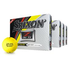 Srixon Z Star XV Yellow Golf Balls - Buy 3 Get 1 Free