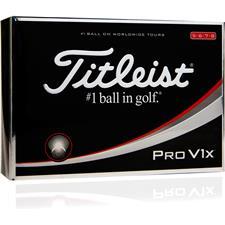 Titleist Pro V1x High Number Custom Logo Golf Balls