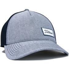 Titleist Men's West Coast Oxford Collection Fitted Hat - Navy - Medium/Large