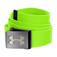 Under Armour UA Webbing Golf Belt - Poison - Adjustable