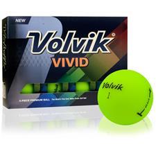 Volvik Prior Generation Vivid Matte Green Golf Balls
