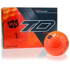 Wilson Staff Custom Logo True Distance Soft Orange Golf Balls