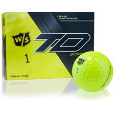 Wilson Staff True Distance Soft Yellow Personalized Golf Balls