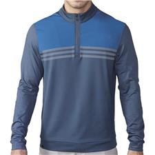 Adidas Men's ClimaCool Colorblock 1/4 Zip Layering Top
