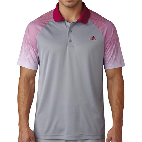 Adidas Men's ClimaCool Gradient Sleeve Stripe Polo