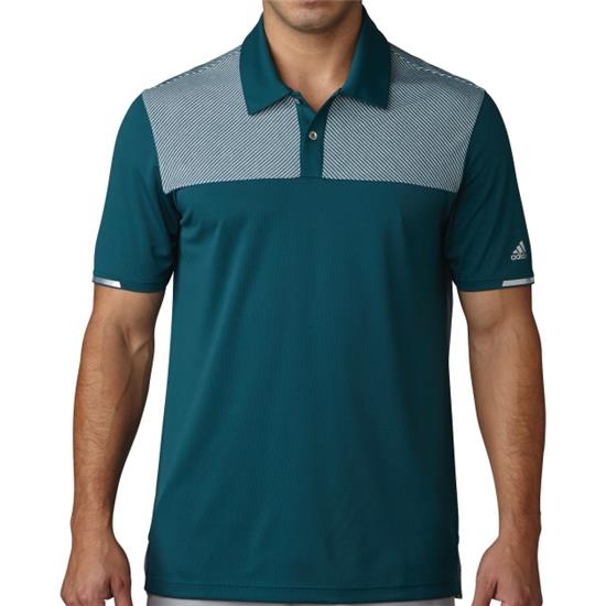 Adidas Men's Climachill Heather Block Competition Polo