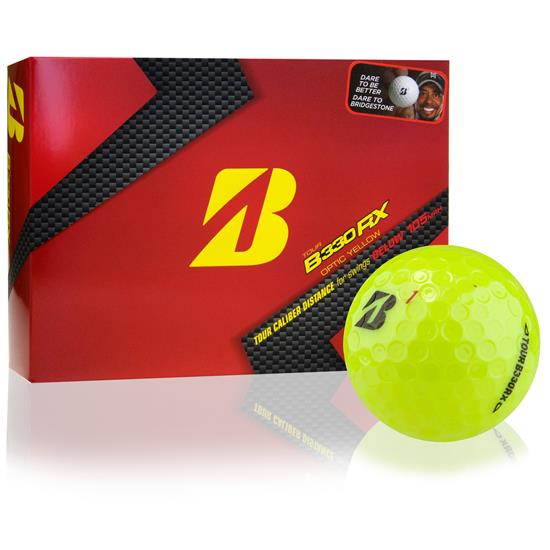 Bridgestone Tour B330-RX Yellow B Mark Golf Balls