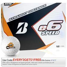 Bridgestone Custom Logo e6 Speed Golf Balls