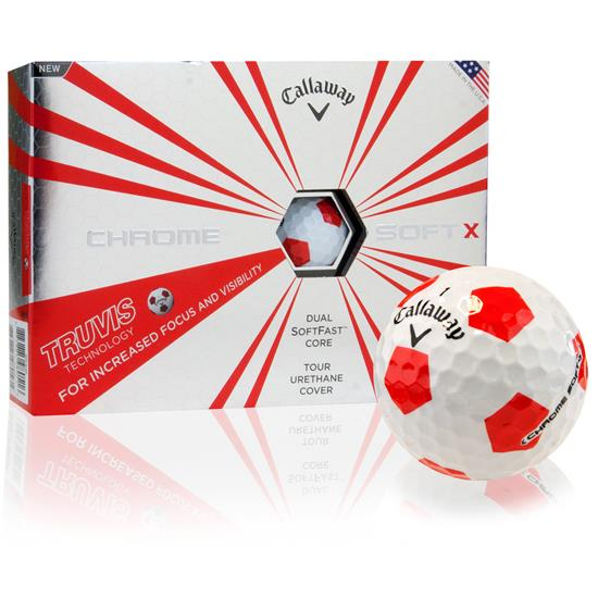 Callaway Golf Prior Generation Chrome Soft X Truvis Golf Balls