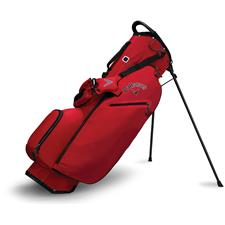 Callaway Golf Hyper-Lite Zero Double Strap Stand Bag - Red