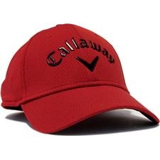 Callaway Golf Men's Liquid Metal Personalized Hat - Red-Black