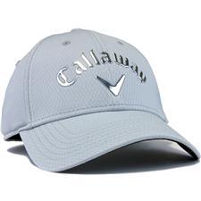Callaway Golf Men's Liquid Metal Personalized Hat - Silver-Chrome