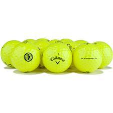 Callaway Golf Logo Overrun Super Hot Yellow Golf Balls