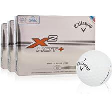 Callaway Golf X2 Hot+ Golf Balls - Buy 2 Dz Get 1 Dz Free