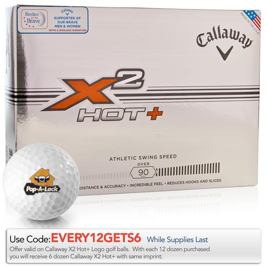 Callaway Golf X2 Hot+ Golf Balls