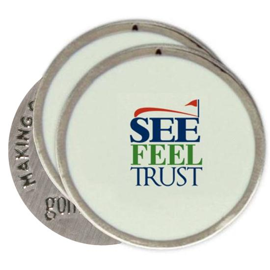 Classic See Feel Trust SFT Logo Ball Markers