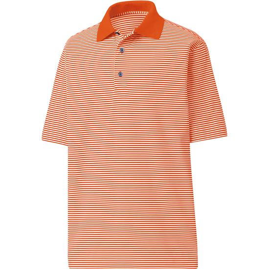 FootJoy Men's ProDry Performance Lisle Feeder Stripe Shirt