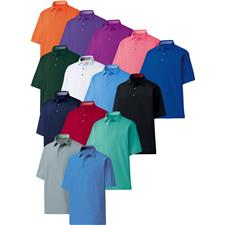 FootJoy Personalized ProDry Performance Solid Lisle Self Collar Shirt