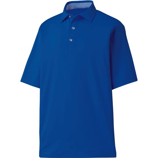 FootJoy Men's ProDry Performance Solid Lisle Self Collar Shirt
