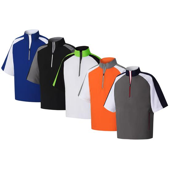 FootJoy Men's Short Sleeve Sport Windshirts
