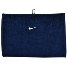Nike Swoosh Personalized Towel - Midnight Navy-White
