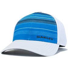 Oakley Men's Silicone Bark Trucker Print 2.0 Hat