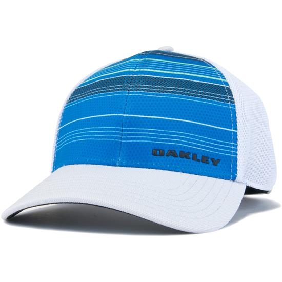 Oakley Men s Silicon Bark Trucker Print 2.0 Hat - Ozone - Large X ... 19d9673b7488