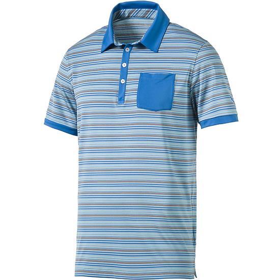 Puma Men's Tailored Pocket Stripe Polo