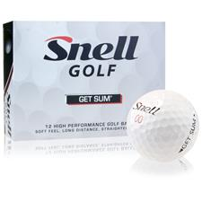 Snell Get Sum Photo Golf Balls