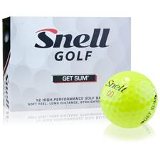 Snell Get Sum Optic Yellow Golf Balls