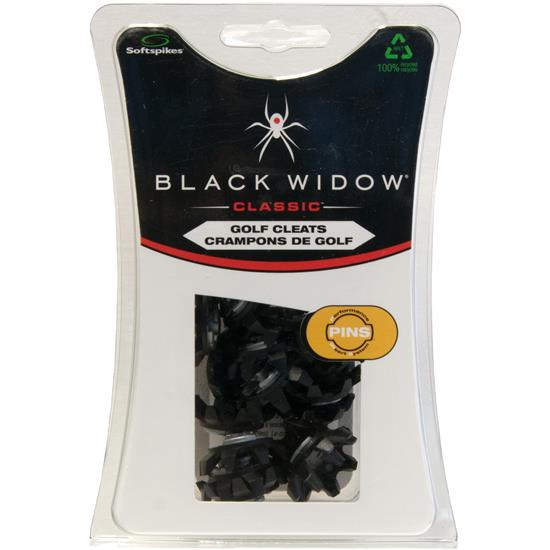 Softspikes Black Widow Classic PINS Golf Spikes