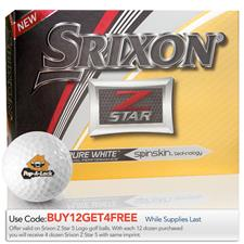 Srixon Custom Logo 2017 Z Star Golf Balls