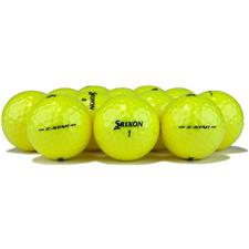 Srixon 2017 Z Star Tour Yellow Logo Overrun Golf Balls