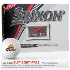 Srixon Z Star XV Custom Logo Golf Balls