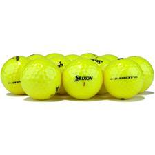 Srixon Logo Overrun Z Star XV Tour Yellow Golf Balls