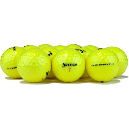 Srixon Z Star XV Tour Yellow Golf Balls