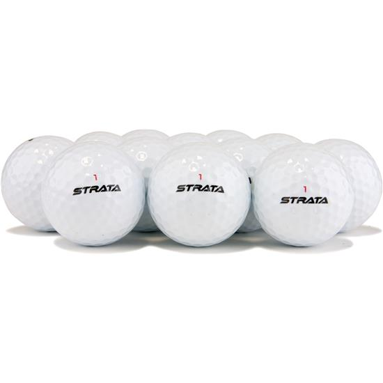 Strata Mixed Logo Overrun Golf Balls
